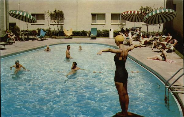 Loring hotel swimming pool fort worth tx for Hotels in fort william with swimming pool