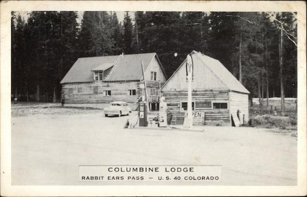 Columbine Lodge, Routt National Forest Steamboat Springs Colorado