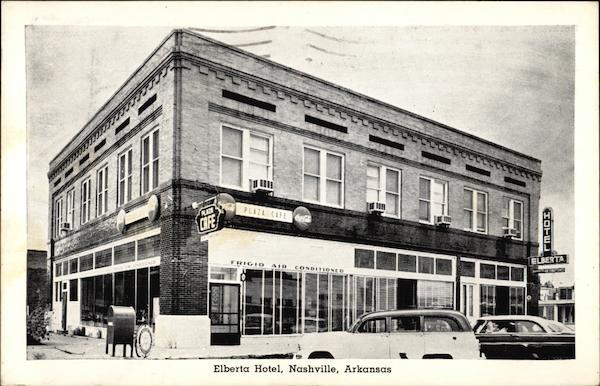 Elberta Hotel Nashville Arkansas
