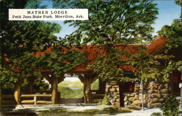 Petit Jean State Park - Mather Lodge Morrilton Arkansas