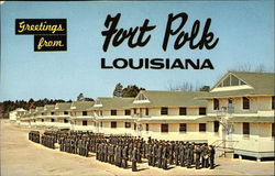 Greetings from Fort Polk