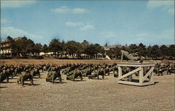 Army Recruits in Physical Training