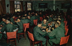 Mess Hall at Fort Knox Army Training Center
