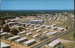 Aerial of Fort Polk