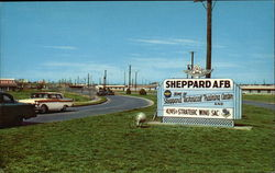Sheppard Air Force Base - Entrance