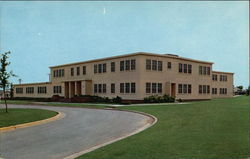 Sheppard Air Force Base - Wing Headquarters Postcard
