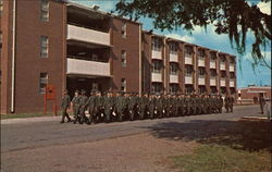 Marching to Class Marine Corps Recruit Depot