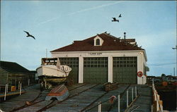 United States Coast Guard Station Postcard