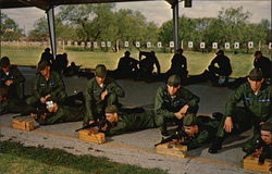 M-16 Rife Training, Lackland Air Force Base