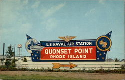 Quonset Island Naval Air Station - Entrance