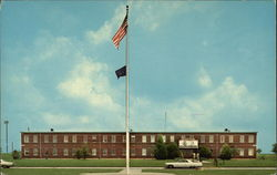 Headquarters, Little Rock Air Force Base Postcard