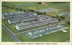 Army Ordnance Command Headquarters Postcard