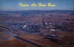 Air View of Travis Air Force Base