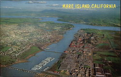 View of Mare Island, California