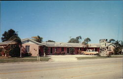 Gulf Palms Motel Postcard