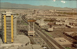 The Dunes Hotel and the Strip Postcard