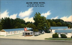 Silver Spur Motel South End of City Limits On Hi-Way 287 to Denver