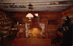Interior of Old Matt's Cabin