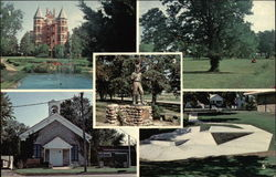 Views of Osawatomie Postcard