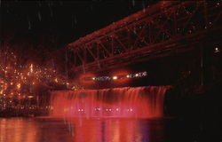 Annual Christmas Lighting at Ludlow Falls