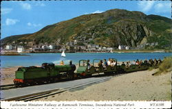 Fairbourne Miniature Railway at Barmouth Terminus
