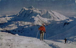 Skiing on Mount Baker