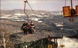 The Chairlift at the Spruce Peak Ski Area