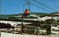 Ski Lift at Mt. Ascutney Ski Area