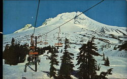 Ski Lift at Timberline Lodge