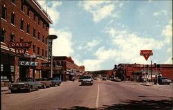 Downtown Lusk, Wyoming