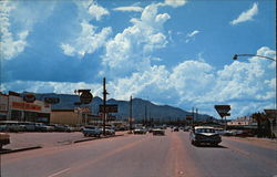 Main Street and Shoppinng Center near gate to Fort Huachuca