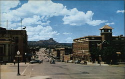 Gurley Street with Thumb Butte in the Background