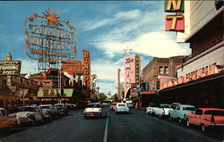 Fremont Street from Second Street Postcard