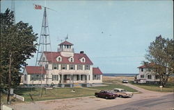 U.S. Coast Guard Station Postcard