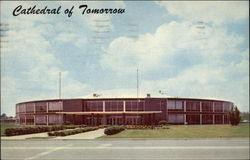 Cathedral of Tomorrow on Route 8 Postcard
