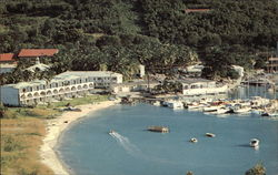 Yacht Haven Hotel and Marina Postcard