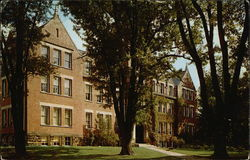 West Virginia Wesleyan College - Lynch-Raine Administration Building Postcard