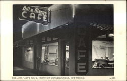 Bill and Mary's Cafe