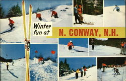 Winter Fun at N. Conway, N.H