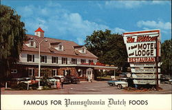 The Williams Restaurant Motel & Lodge Famous For Pennsylvania Dutch Foods