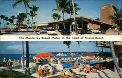 Monterrey Resort Motel Postcard