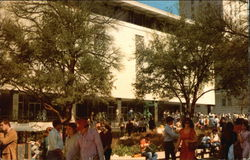 University of Texas - Academic Center on the West Mall Postcard