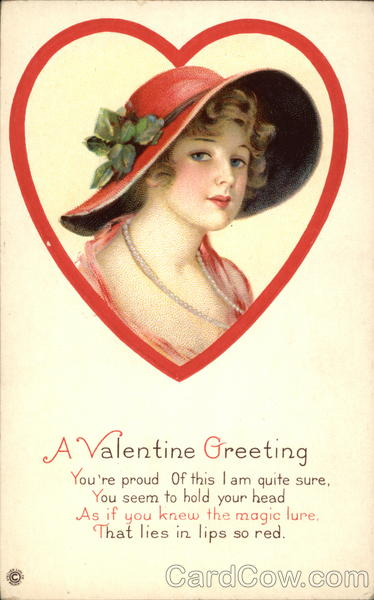A Valentine Greeting Women