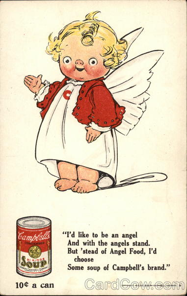 Campbell's Soup Kid No. 8 Grace Wiederseim Advertising