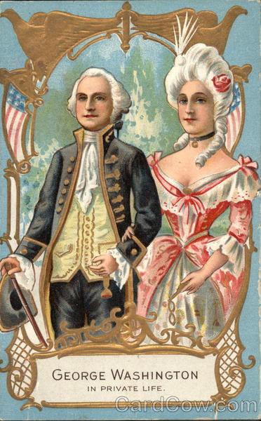 George Washington in Private Life Presidents
