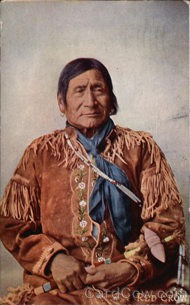 Red Crow Native Americana