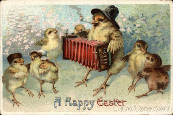 A Happy Easter With Fairies
