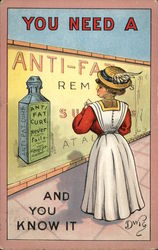 You Need a Anti-Fat Cure and You Know It Postcard