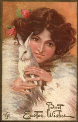 Lady With Bunny Rabbit