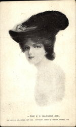 The F.S. Manning Girl Postcard